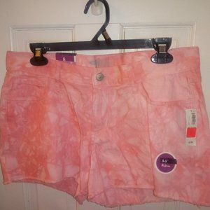 NWT Old Navy The Diva Fit Shorts Tie Dye
